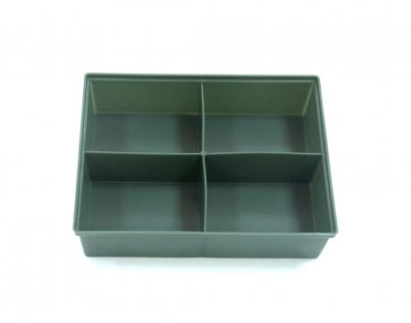 Ящик для крепежа 4-х ячеечный (195х50х145)