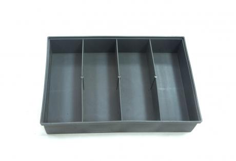 Ящик для крепежа 4-х ячеечный  (285х50х195)