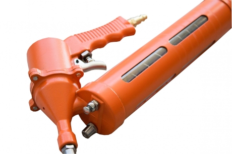 Шприц авто (компрессор) с наконечником и шлангом