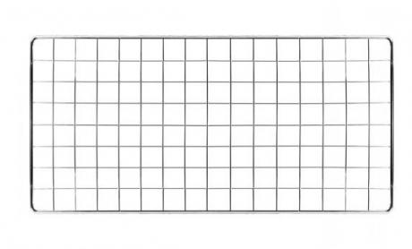 Решетка витринная 145х75