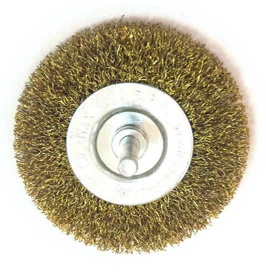 Щётка на дрель дисковая мягкая 62мм