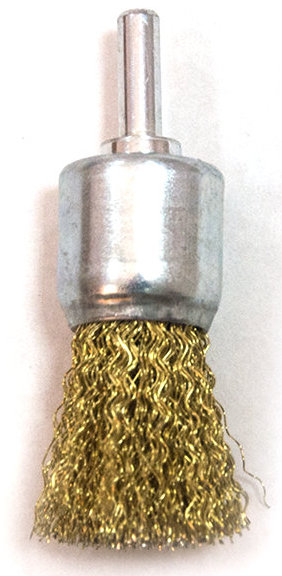 Щётка на дрель кисточка мягкая 19мм