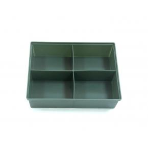 Ящик для крепежа 4 яч  (195х50х145)