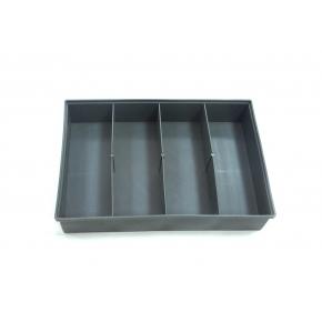 Ящик для крепежа 4 яч  (285х50х195)
