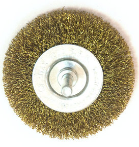 Щётка на дрель дисковая мягкая 50мм