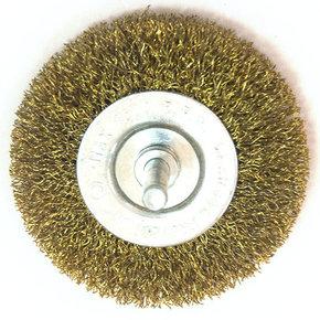 Щётка на дрель дисковая мягкая 75мм